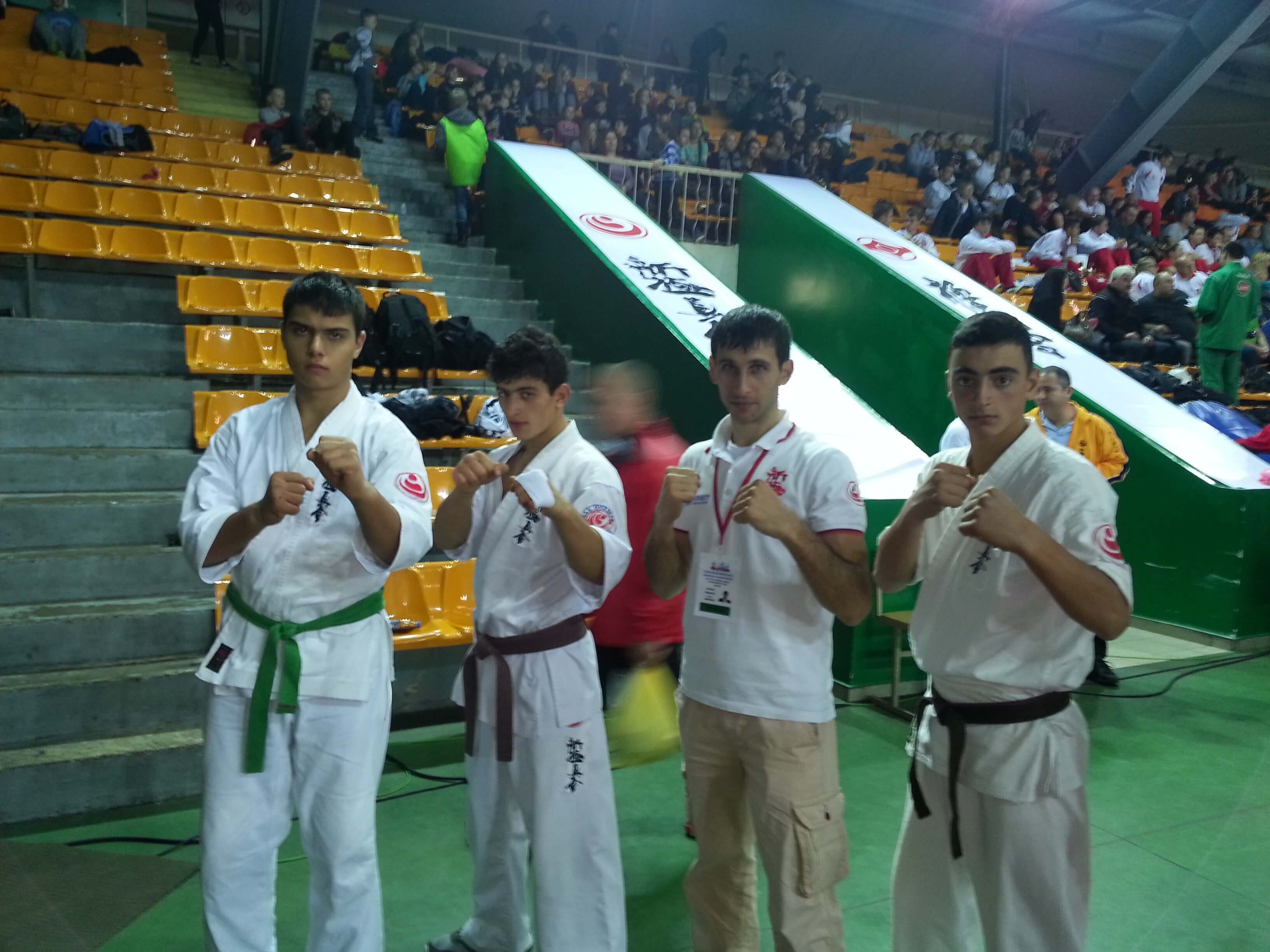 Federation of Shinkyokushin Karate of Armenia - U22 in Lithuania
