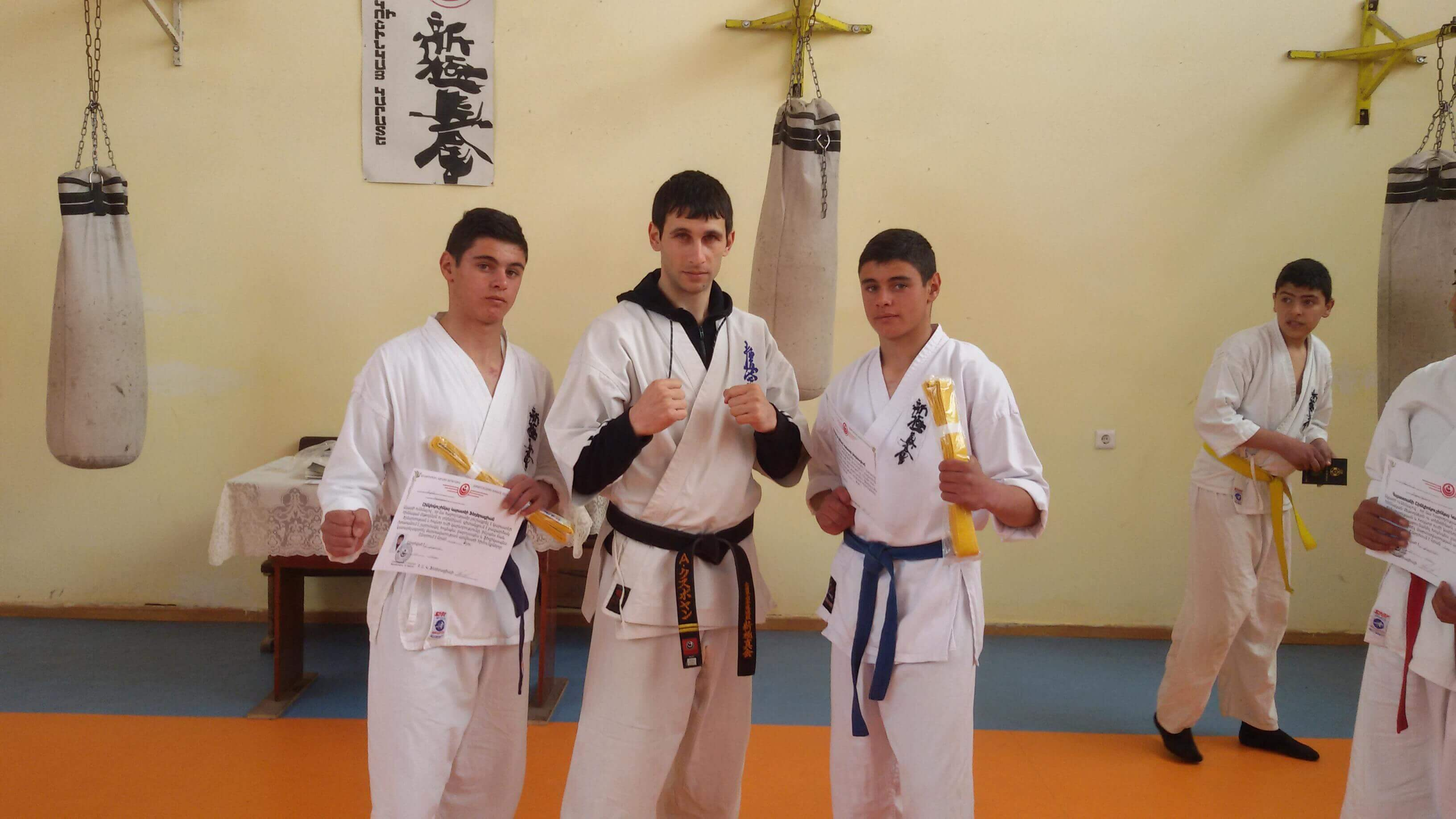 Federation of Shinkyokushin Karate of Armenia - Training is Vardenis