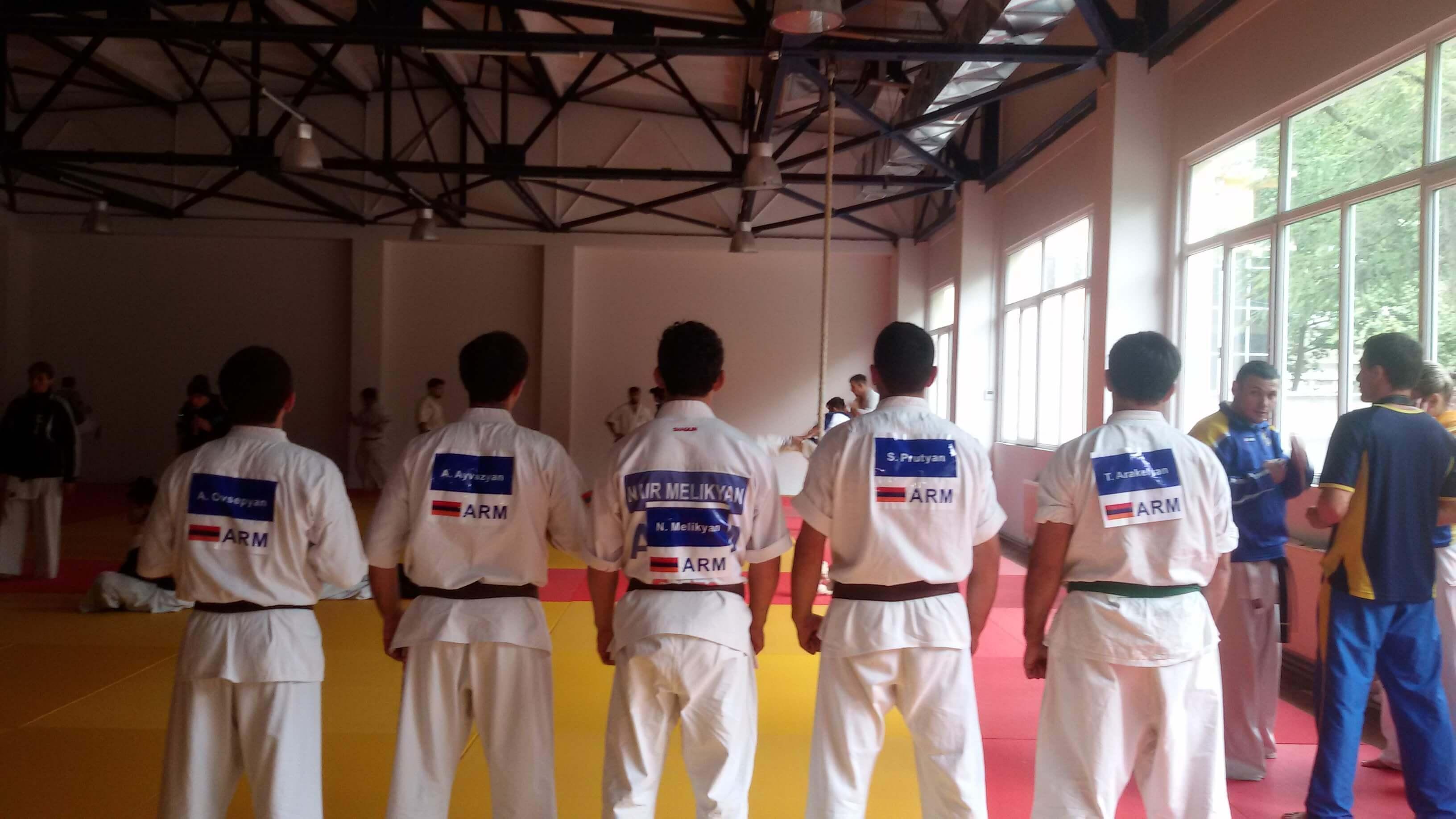 Federation of Shinkyokushin Karate of Armenia - Our team